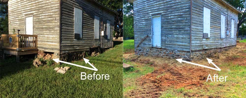 Old School House restoration