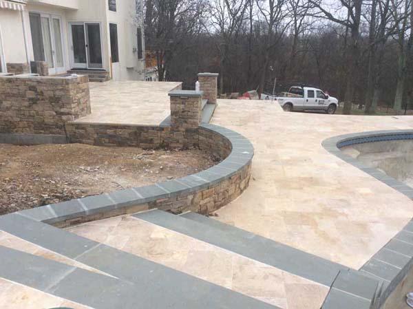 poolside stone