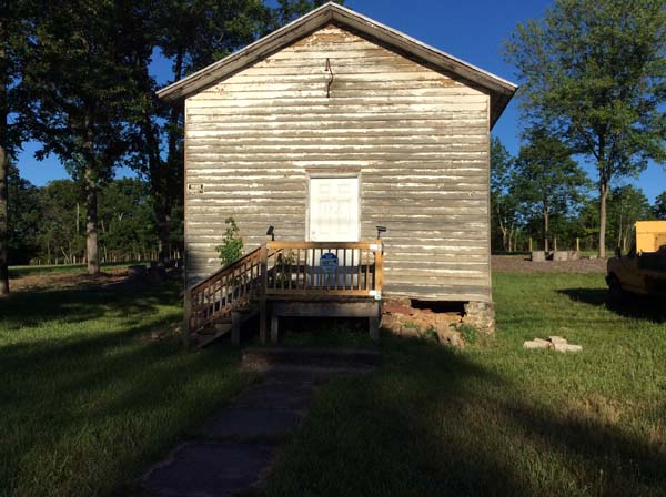 old heritage school masonry